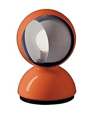 Artemide Lámpara De Mesa Eclisse Naranja Ø 12 H 18 cm