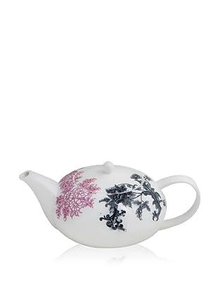 Elinno New Willow Teapot, White/Multi