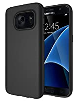 Samsung Galaxy S7 Case , Diztronic Full Matte TPU Series - Slim-Fit Soft-Touch Thin & Flexible Phone Case for Samsung Galaxy S 7 / GS7 - Full Matte Black