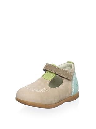 Kickers Kid's Babyfrench Shoe (Beige/Multi)