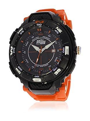 Pit Lane Uhr mit Miyota Uhrwerk Pl-2004-3 orange 50 mm