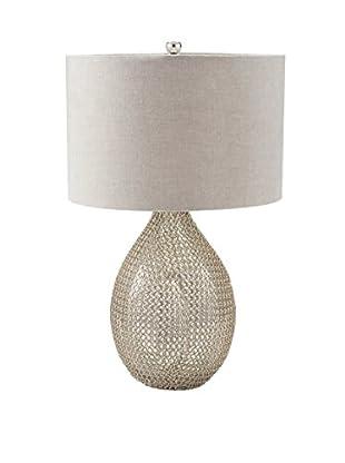 Artistic Lighting Table Lamp, Silver
