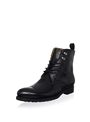 Gordon Rush Men's Wing Boot (Black)