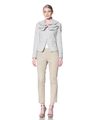Lafayette 148 New York Women's Hillary Tweed Jacket (Shale Multi)