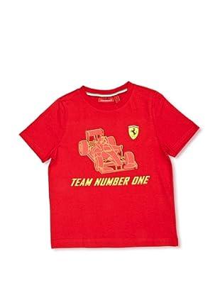 Ferrari Camiseta No. 1 (Rojo)