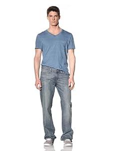 Earnest Sewn Men's Fuller Relaxed Straight Leg Jean (Morrissey)