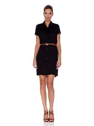 Vestido Georgette (Negro)