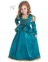 Little Adventures 11362 Scottish Princess Dress Costume size 3-5 with Hairbow