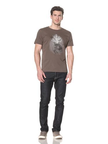 Tee Library Men's Yggdrasil T-Shirt (Khaki)