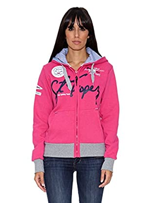 Geographical Norway Sudadera Grace Lady (Fucsia)