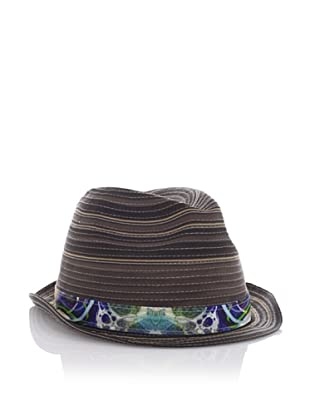 Robert Graham Men's Wyclef Fedora (Brown)