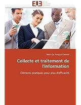 Collecte Et Traitement de L''Information (Omn.Univ.Europ.)