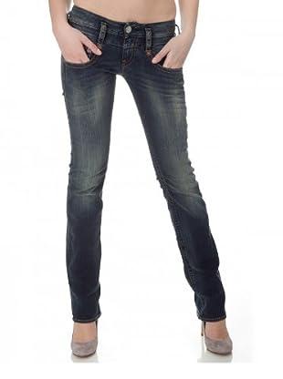 Herrlicher Jeans Pitch Denim Stretch Regular Fit (Dusk)