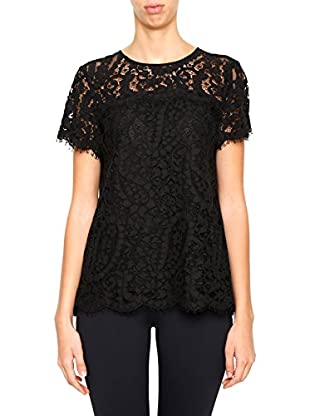 Michael Kors Top Lace Short Sleeve