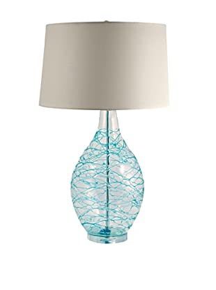 Aurora Lighting Hand Blown Glass Table Lamp