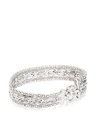 Peermont Jewelry Sterling Silver Popcorn & Marina Fancy Bracelet