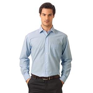 Van Heusen Formal Solid Pocket Detailed shirt