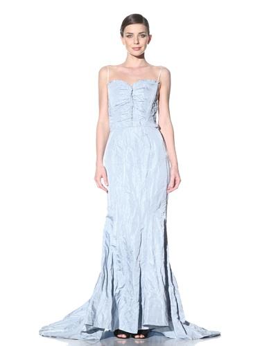 NINA RICCI Women's Trumpet Skirt Gown (Iris)
