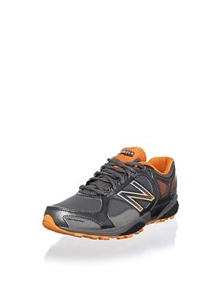 New Balance Men's MT1110 Trail Running Shoe (Grey/Orange)