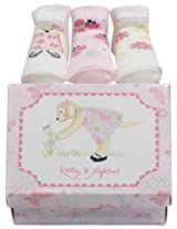 Kelly B. Rightsell Pickles Designs Sock, Set of 3, Sunny Puppy