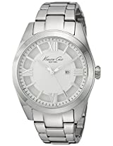 Kenneth Cole Dress Sport Analog Silver Dial Women's Watch - 10023856