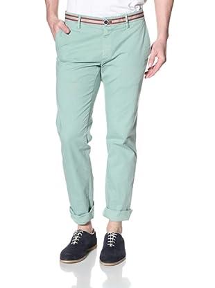 Mason's Men's NY Grosgrain Taping Detail Pant (Mint)