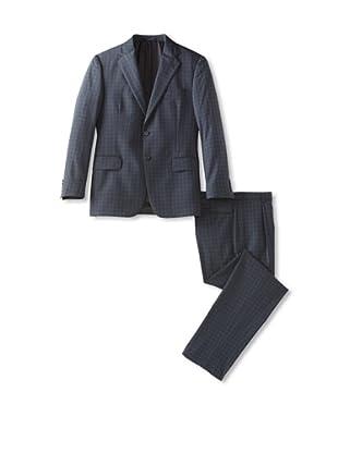 Joseph Abboud Men's 2-Button Suit (Blue)