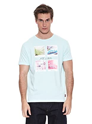 Springfield Camiseta Rb Four Polaroid (Verde Agua)
