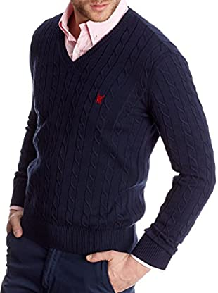 Polo Club Pullover Gentleman V Braided