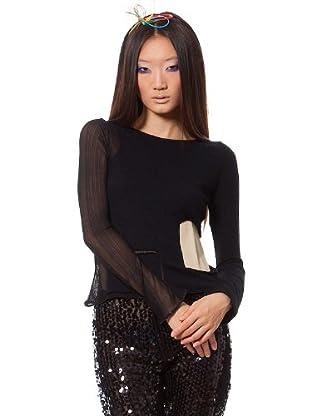 Custo Camiseta Rosht (Negro)