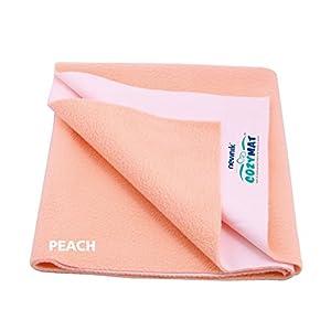 Cozymat Soft, Water-Proof & Reusable Mat (Size: 140cm X 100cm) Peach, L