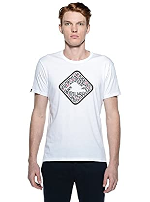 Hot Buttered Camiseta Letters (Blanco)