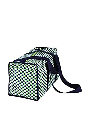 Malabar Bay Mod Dots Duffle Bag, Green