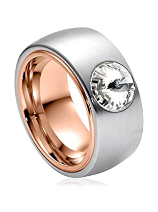 steel art Ring Coma Bicolor