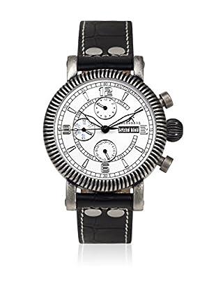 Hindenberg Reloj automático Man Negro / Plata / Blanco 48 mm
