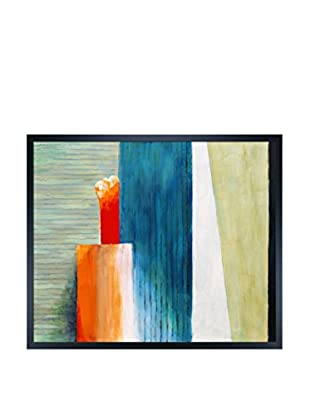 Clive Watts Slats Framed Print On Canvas, Multi, 21.5