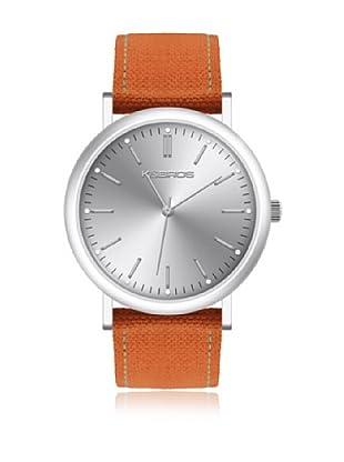 K&BROS Reloj 9490 (Naranja)