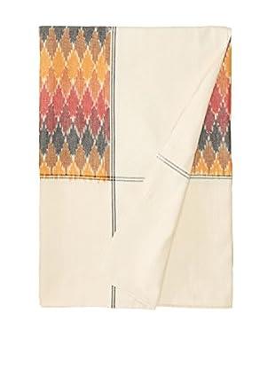 Nomadic Thread Society Ikat Bed Cover, Pebble Ikat, Twin