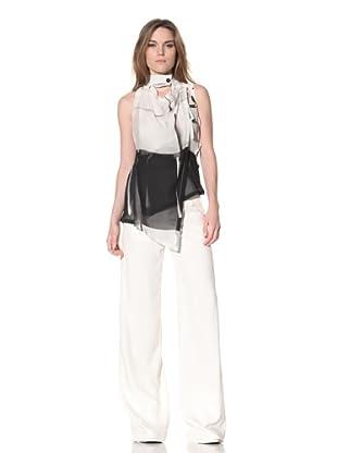 Ann Demeulemeester Women's Wrap Top (Off-White)
