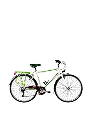 SCHIANO Fahrrad 28 Trekking 30 06V 713 weiß/grün
