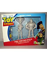 Disney Woody and Buzz - Paint Your Own Statue