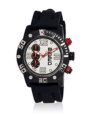Breed Reloj con movimiento cuarzo japonés Brd3907 Negro 45  mm