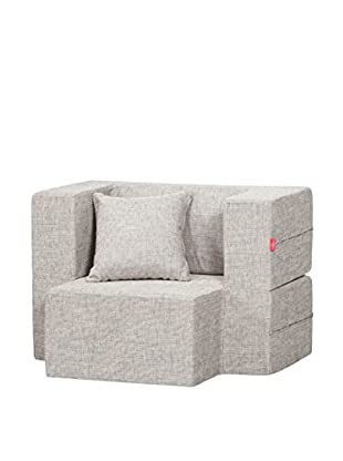 Best seller living Sillón Puff Mini Tiramisu Gris