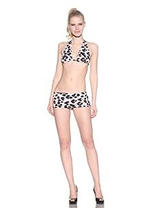 Norma Kamali Women's Eric Bikini Top (Paw)