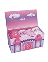Tic Tac Toe Princess Gift Box with 4 Socks