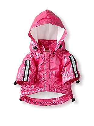 Pet Life Reflecta Sport Rainbreaker Dog Raincoat, Hot Pink, X-Small