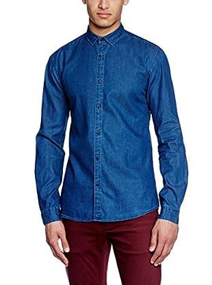 Selected Homme Camisa Hombre Jilin (Azul)