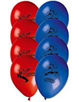 Marvel Ultimate Spiderman Printed Balloons, Multi Color (11-inch)
