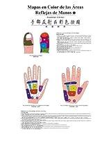 Full Color Hand Reflexology Wall Chart