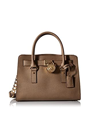 MICHAEL Michael Kors Women's Hamilton East/West Satchel, Dark Dune